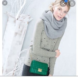 🆕 item J. Crew cashmere infinity scarf in cream